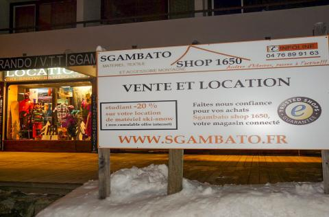 magasin SGAMBATOSHOP 1650
